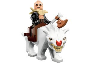 Lego Hobbit Yazneg with Warg Minifigure
