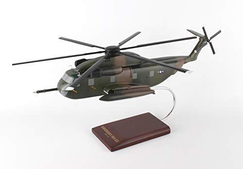 Mastercraft Collection Sikorsky MH-53 Pave Low HH-53D Jolly Green Giant USAF Air Force Special Operations Missions Heavy Lift Helicopter Model Scale: 1/48 ()