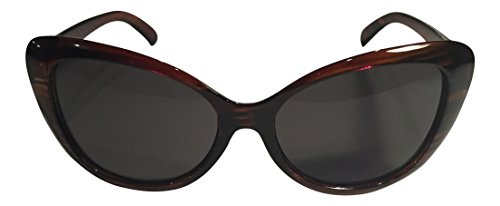 Red Cat Eye Sunglasses - Cute Vintage Style Frames - 100% Satisfaction Guaranteed - Retro 50's Costume Throwback - Best Shades For Teens & Women - High Quality - 400UV Protection