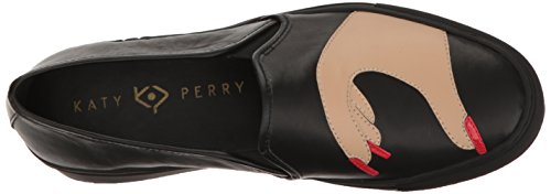 Katy Perry Womens The Heart Sneaker Black