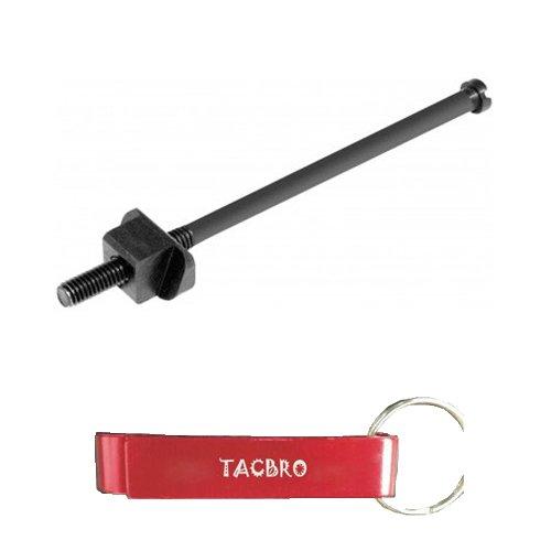 TACBRO AK PISTOL GRIP SCREW & BASE with One Free TACBRO Aluminum Opener(Randomly Selected Color) (Ak 47 Pistol Grips)