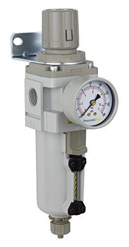 PneumaticPlus SAW4000M N04BG MEP Compressed Regulator Piggyback