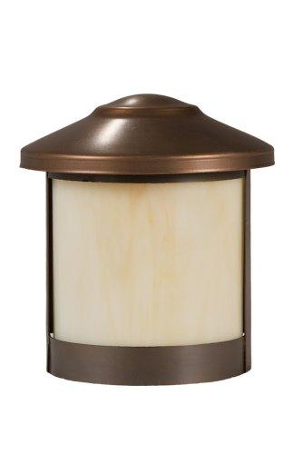 Highpoint Deck Lighting HP-550P-MBR Genesis 12-Volt Surface Mount Rail Light Fixture, Antique Bronze