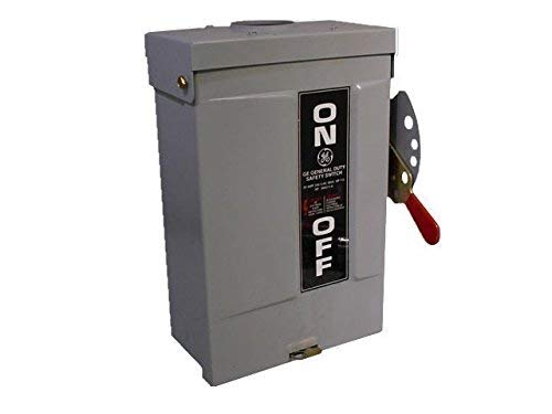 GE TG3221R 3 Wire 2 Pole Fusible Type TG General-Duty Safety Switch 240 Volt 30 Amp NEMA 3R Spec-Setter