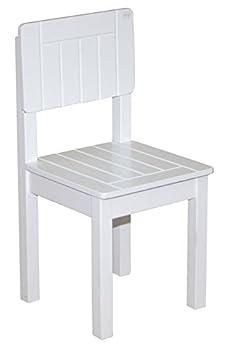 Roba - Kinderstuhl, weiß, 59 x 29 x 29 cm weiß B003W0U69K