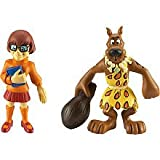 Scooby-Doo Mystery Mates Stone Age Scooby & Velma Mini Figure 2-Pack