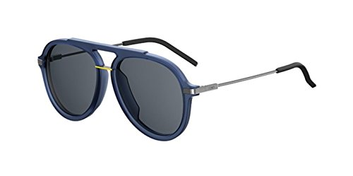 New Fendi FF M 0011/S PJP/IR Blue/Grey Blue Sunglasses