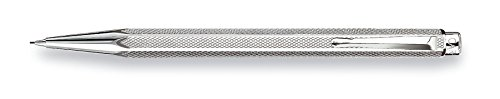 Price comparison product image Caran D' Ache Retro Ecridor Silver Plated/Rhodium Coat 0.7mm Pencil (0004.486)