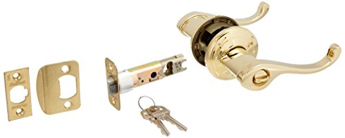 Kwikset 740CHL-L03 Commonwealth Entry Door Lock Lifetime Brass Finish