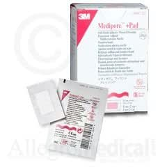 """Amazon.com : 3M MEDIPORE +PAD SOFT CLOTH ADHESIVE WOUND DRESSING 3 1/2"""" x 8"""" Wound Dressing Size ..."""