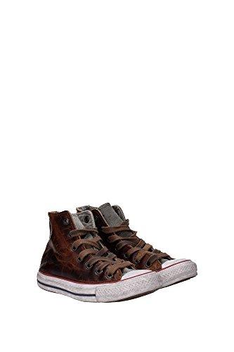 Mujer Converse Marrón Piel Marrón 1C16FA02 Sneakers F8fwTSPFWq