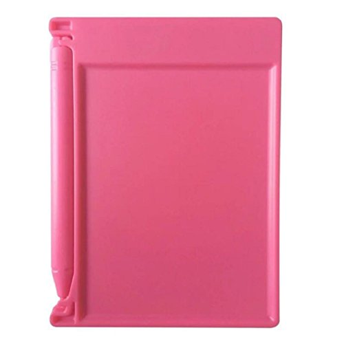 Kinrui 4.4-inch LCD EWriter Paperless Memo Pad Tablet Writing Drawing Graphics Board (Pink)