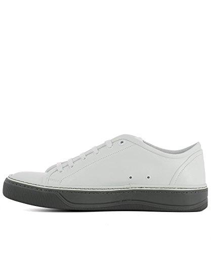 Lanvin Hombre FMSKDBNDMAIAP1800 Blanco Cuero Zapatillas