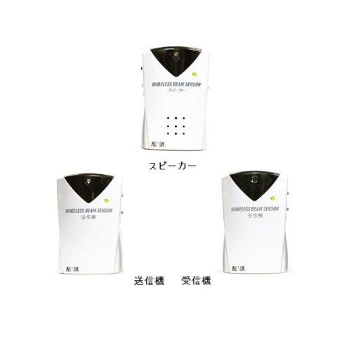 【キヨタ】ADX-540HO ワイヤレス赤外線ビーム式 徘徊感知機 [徘徊防止、センサー、 B004TO29CA