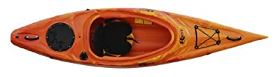 quest10YR Riot Kayaks Quest 10 Flatwater Recreational Kayak, Yellow/Red by Kayak Distribution