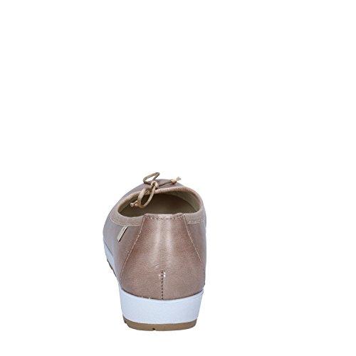 CINZIA Donna Beige SOFT Pelle Balleriine pwrqp64
