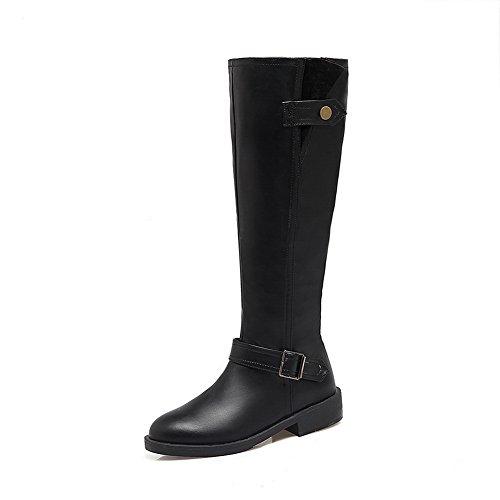 BalaMasa Abl10565, Sandales Compensées Femme - Noir - Noir,