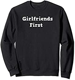 Girl Friends First Sweatshirt in English