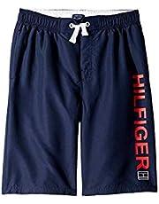596046af29 Tommy Hilfiger Kids Boy's Hilfiger Flag Swim Trunks (Big Kids)