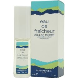Eau De Fraicheur By Weil Paris - Eau De Toilette Spray 1 Oz (Toilette Spray Fraicheur Eau De)