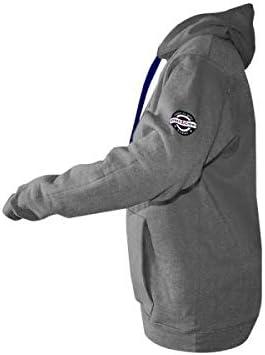 Black Crown Sweatshirt Soon Grau