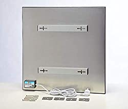 Wexstar WS-4WUS Infrared Panel Heater 400W White