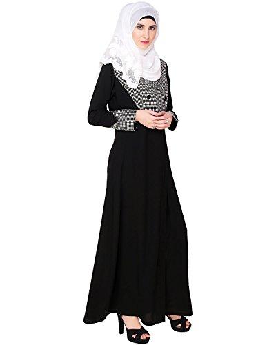 Modest Forever Classic Black Coat Abaya by modestforever (Image #2)