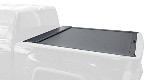Roll-N-Lock LG262M Tonneau Cover (M-Series Retractable Locking, Black) by Roll-N-Lock