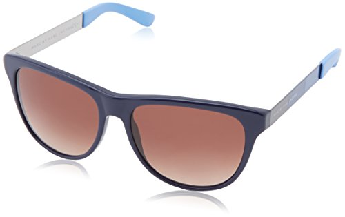 Marc by Marc Jacobs Women's MMJ408S Wayfarer Sunglasses, Blue, 55 - Wayfarer Jacobs Marc