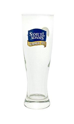 Samuel Adams Ale (Samuel Adams Summer Ale 16 Oz Pilsner Beer Glass Seasonal Brew)