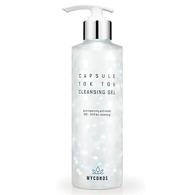 Black Friday & Cyber Monday Special Deal - Myconos Facial Gel Cleanser Korean 1 Step Makeup Remover Premium Advanced PH Balanced Formula