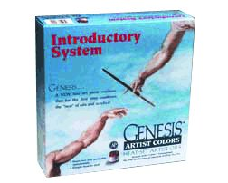 Genesis Artist Oil Color Introductory Set with Heat Gun