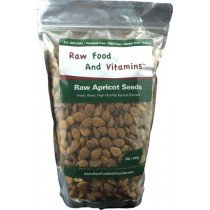 One 2 Pound bag of Bitter Raw Apricot Seeds (Kernels)