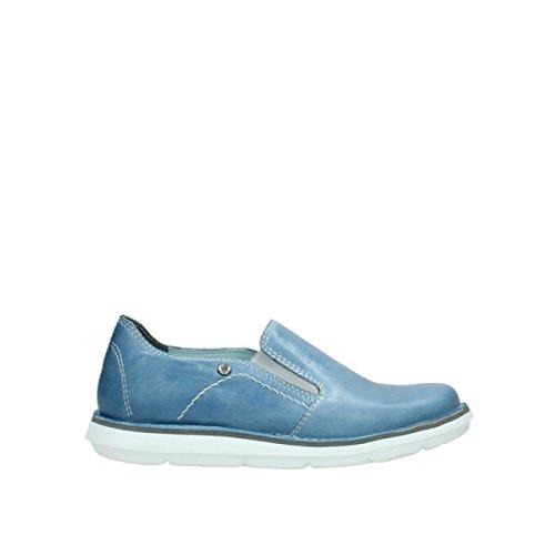 Wolky Comfort Slipons 08476 Flint 30820 denim leather
