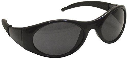 Stinger Lens Tool - SAS Safety 5182 Stingers Black Frame Shaded Lens High Impact Safety Glasses