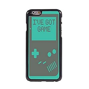 TOPAA I've Got Game Pattern Aluminum Hard Case for iPhone 6