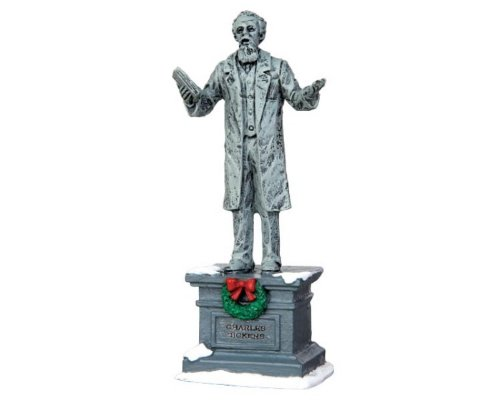 Lemax Village Collection Dickens Statue # 44759