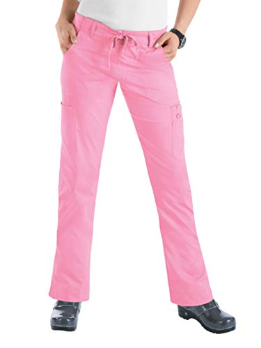 (KOI Stretch 710 Women's Lindsey Scrub Pant More Pink S)