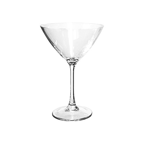 My Table Talk? Set of 4 - Unbreakable Polycarbonate Martini Glass - Clear