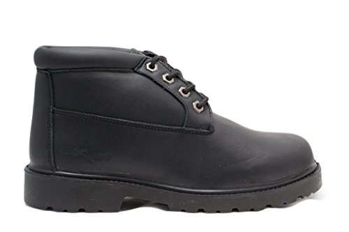 Mike's Black Padded Collar Chukka Boots – Size 9 by Mike's (Image #2)