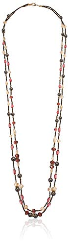 - Napier Women's Multi-Colored Beaded Strand Necklace