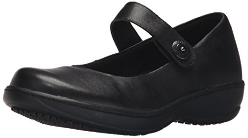 - Spring Step Women's Wisteria Work Shoe, Black, 8 M US