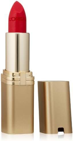 L'Oreal Paris Makeup Colour Riche Original Creamy, Hydrating Satin Lipstick, 317 Ruby Flame, 1 Count