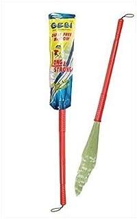 Gebi No Dust Floor Broom-Freedom from new broom dust (Bhusa) 95cm Length -Indian Brush