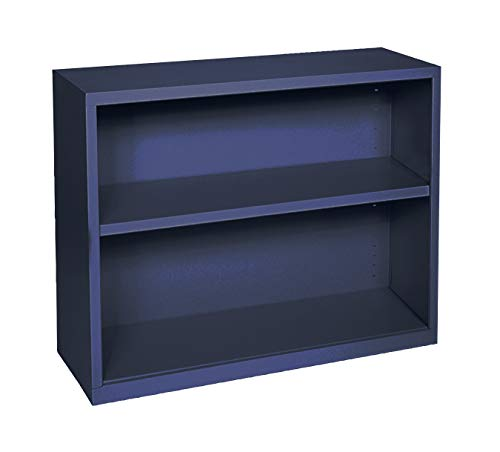 Sandusky Lee BA10341230-A6 Elite Series Welded Bookcase, 12 x 30 x 36 , Navy Blue