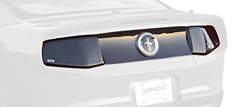 GT Styling GT4154 Tail Light Blackout Panel for Mustang 2010 (2010 Mustang Gt)