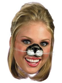 Cat Costumes Mask (Disguise Costumes Black Cat Nose, Child)