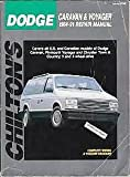 Dodge Caravan - Plymouth Voyager 1984-91, Chilton Automotive Books, 0801981557