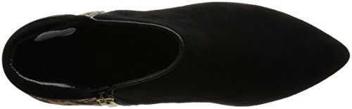 Rockport Kalila Piping Bootie, Zapatillas de Estar por Casa para Mujer Negro / Leopardo