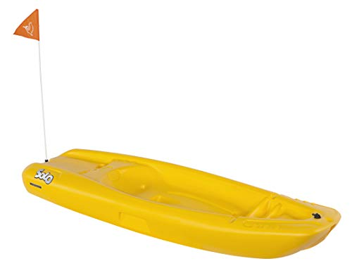 Stuff like that Yellow Pelican Solo 6′ Sit-On-Top Youth Kayak with Kayak Accessories, Paddle and Safety Flag